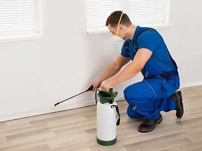 Disinfezione pavimento