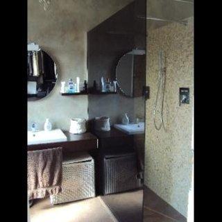 specchio a parete fumé