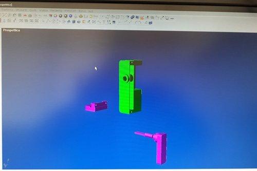 progettazione digitale parti in alluminio