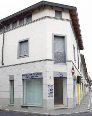 Edificio Onoranze Funebri Sala