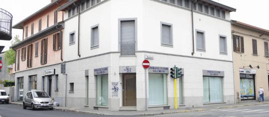 La sede della Onoranze Funebri Sala a Lissone