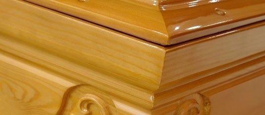 Dettaglio cofano funebre