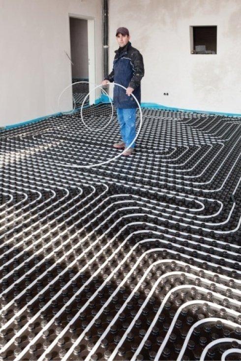 Progettiamo e installiamo anche impianti di riscaldamento a pavimento