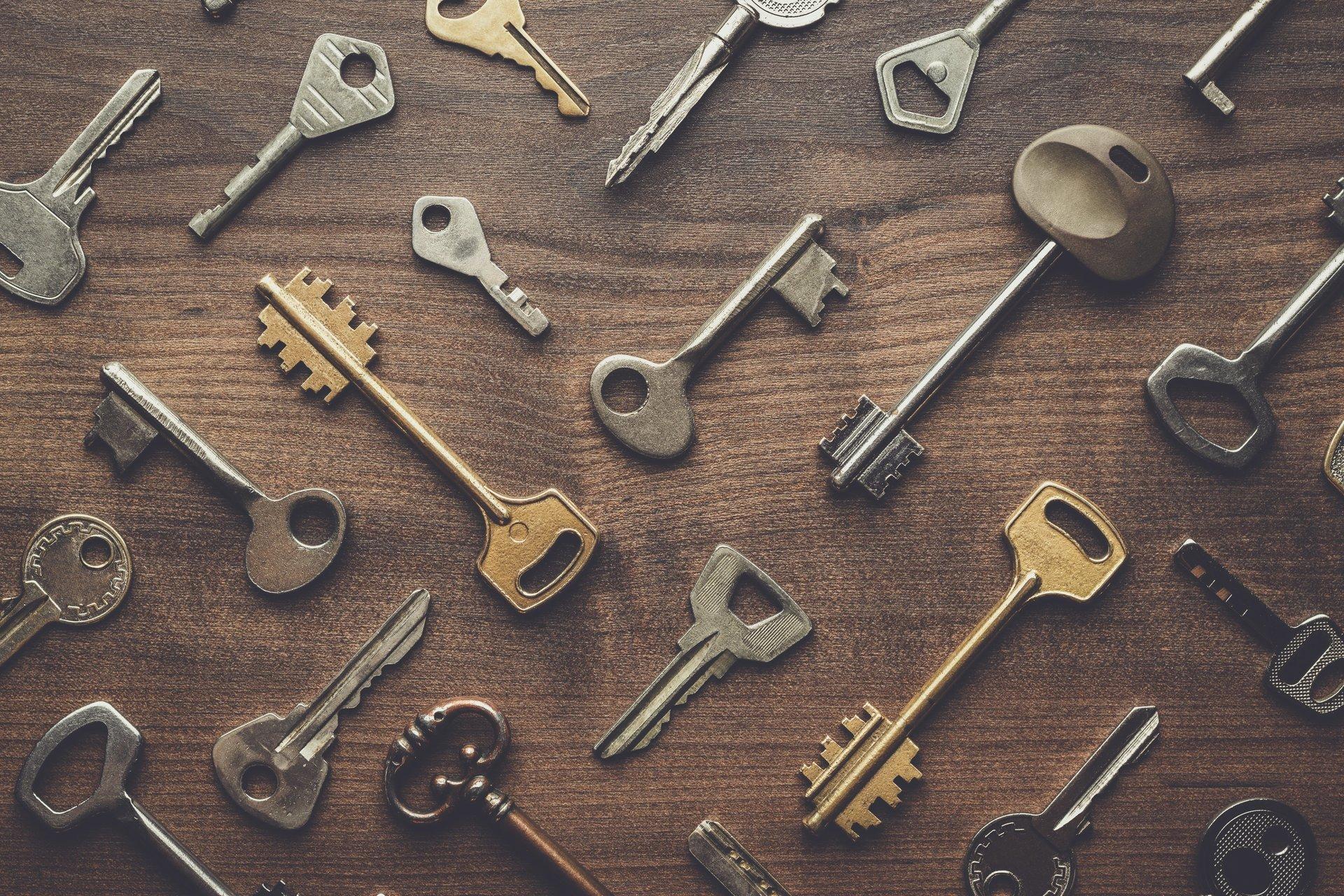 Espositore di chiavi