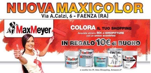 promozione max meyer