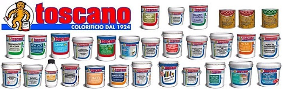 gamma colorificio Toscano
