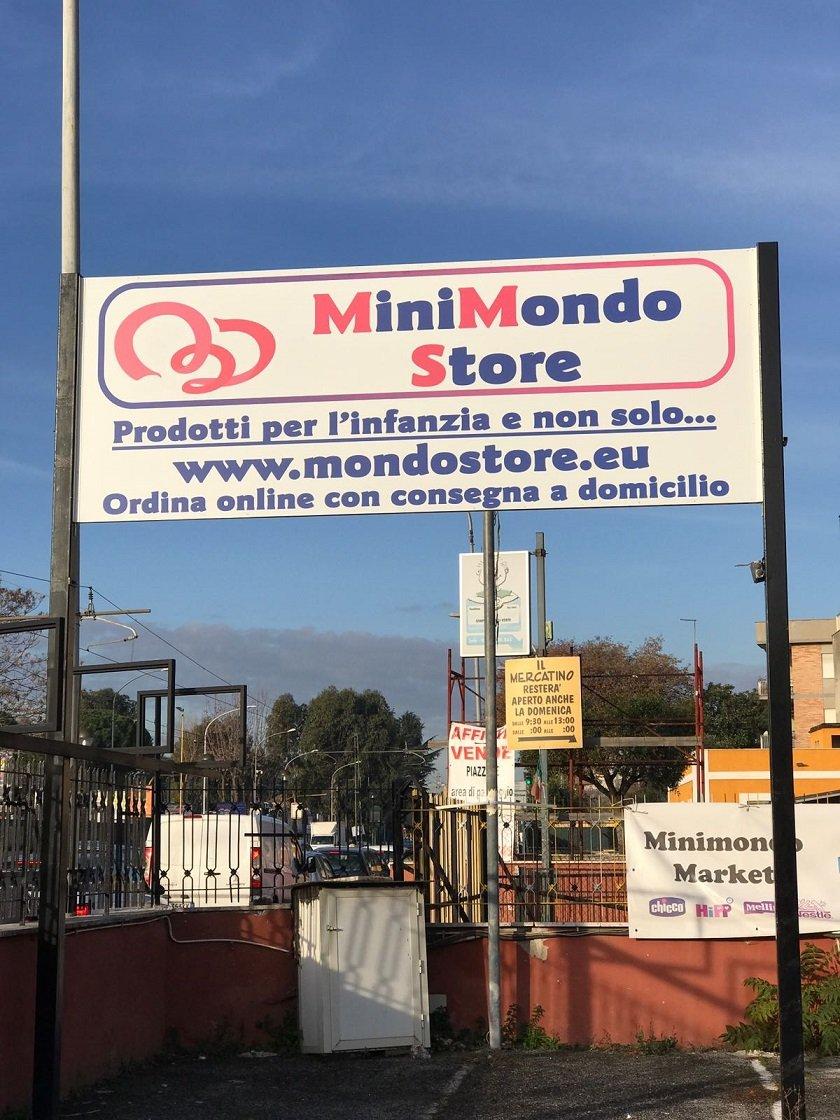 Insegna Minimondo