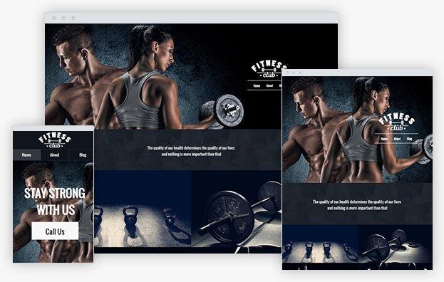 Reddrop Media Fitness Club Template
