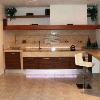 cucine in legno e marmo
