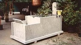 estrazione pietra, pietra lavica, portali di pietra lavica