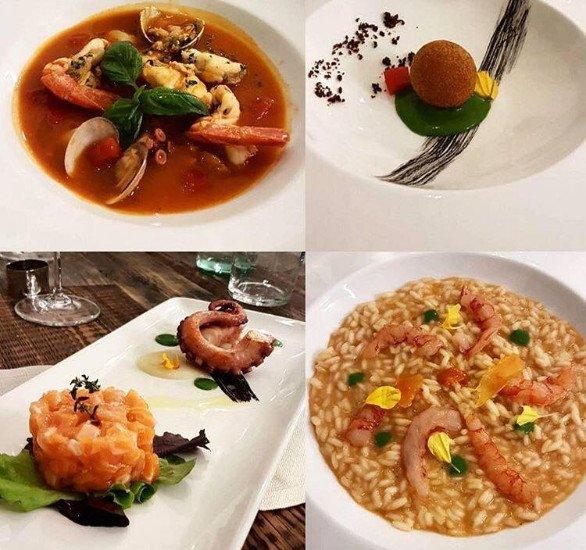 dei piatti speciali a base di pesce