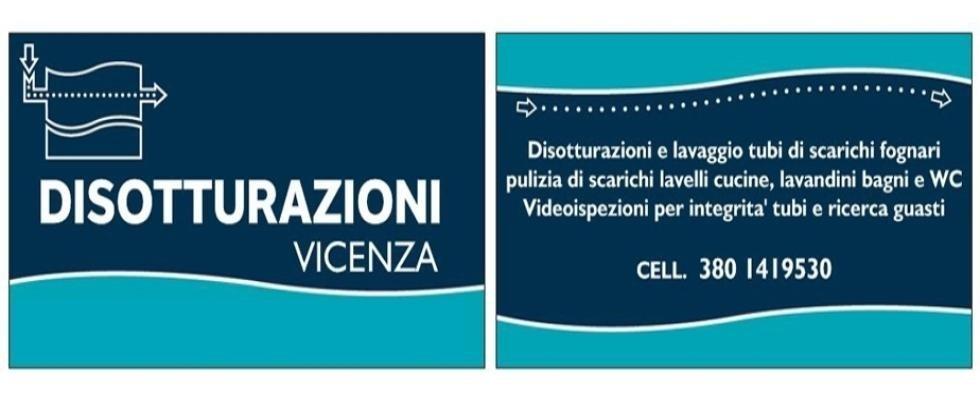 Disotturazioni Vicenza