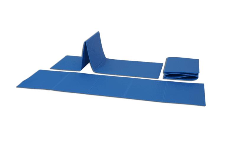Stuoia individuale pieghevole per ginnastica a terra