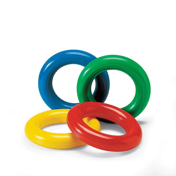 Anello di gomma liscia colorata