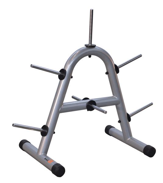 Cavalletto porta dischi verticale in acciaio verniciato.
