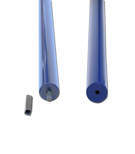 Pertica di tubolare di acciaio verniciato