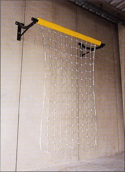 Rete per arrampicata in sospensione
