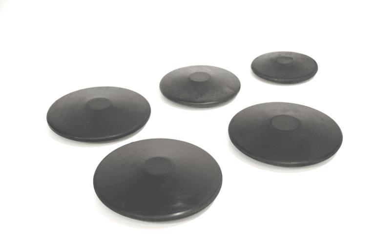 Disco di gomma da allenamento