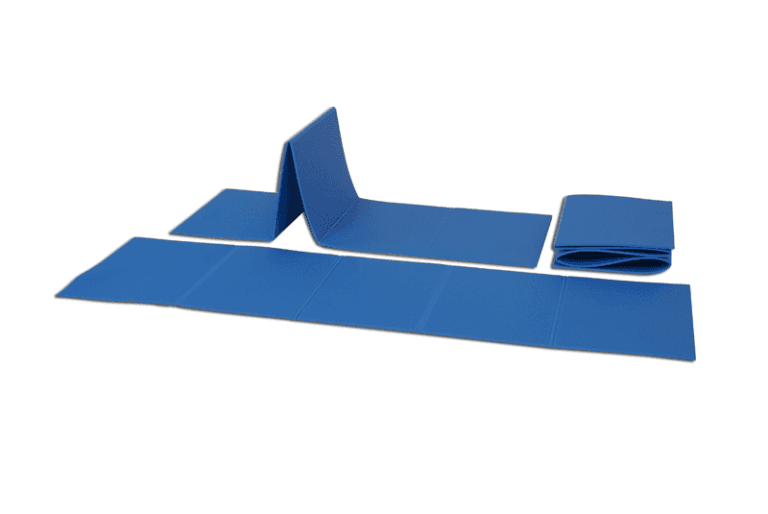 Stuoia individuale pieghevole per ginnastica a terra in polietilene