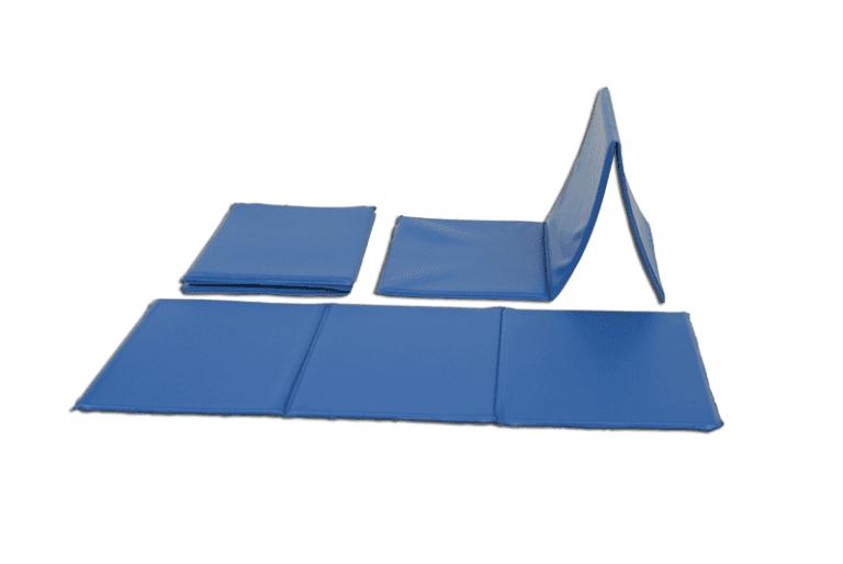 Materassina individuale pieghevole per ginnastica a terra di vinile