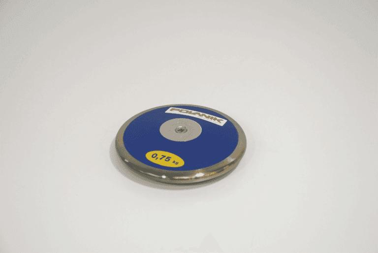 Disco da allenamento Polanik di plastica bordato acciaio