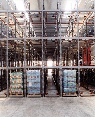 Scaffalature industriali gravità pesante