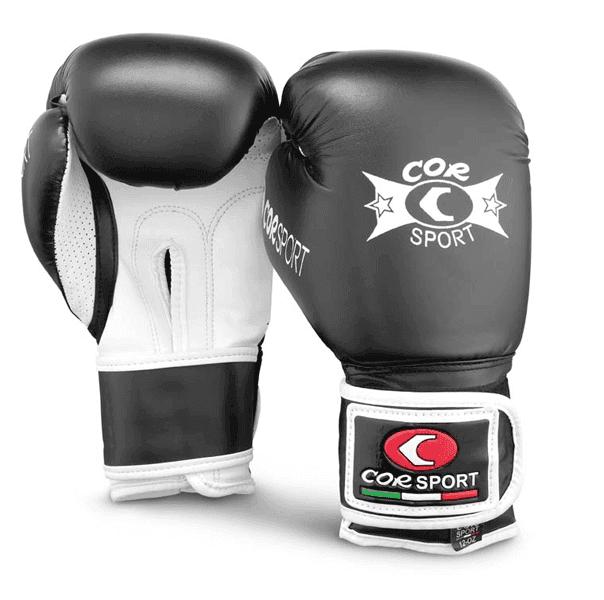 Paio guanti boxe pelle sintetica