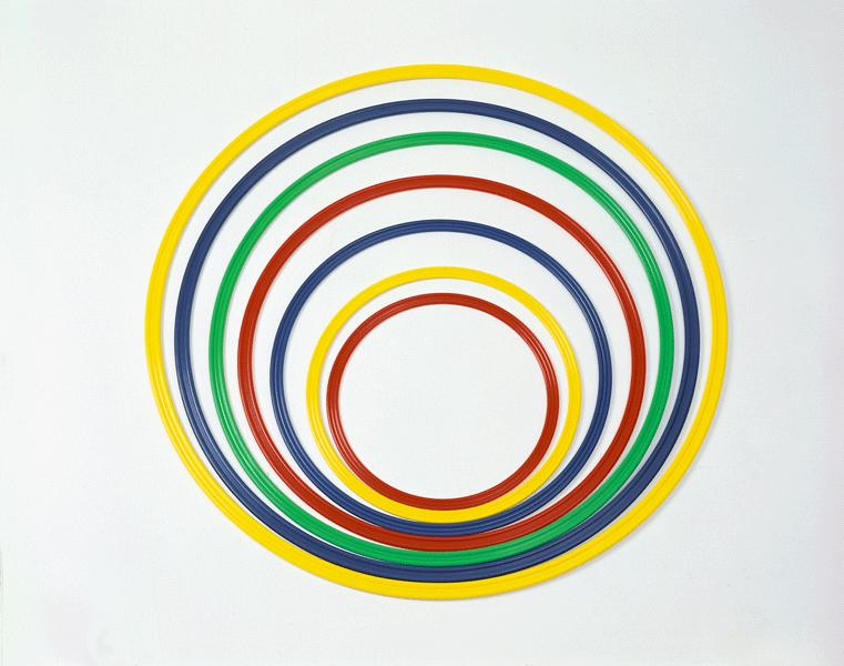 Cerchio di nylon colorato