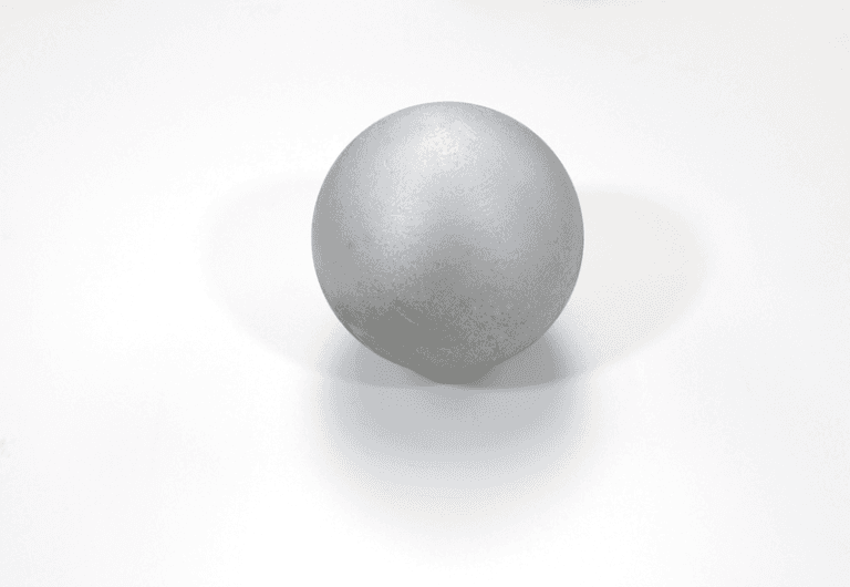 Palla getto di metallo verniciato da allenamento