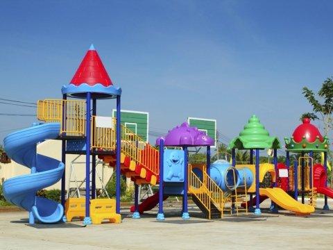arredamento parco giochi