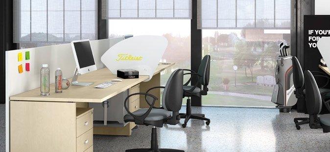 Mobili per ufficio operativi Line Kit