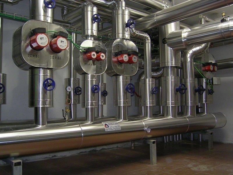 Impianti industriali canalizzati vinci firenze toscana for Isolamenti termici
