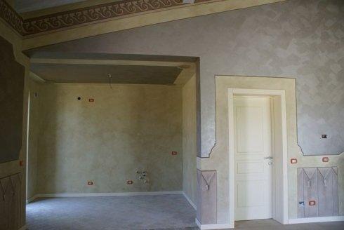 decorazioni, pitture edili