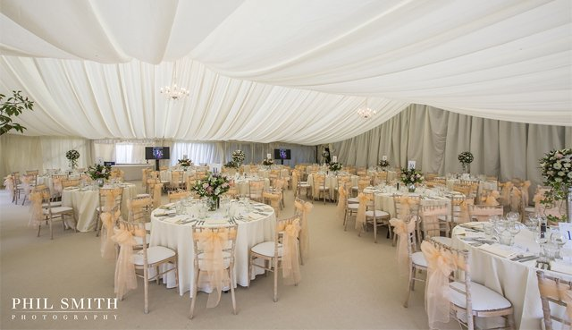 wedding marquee