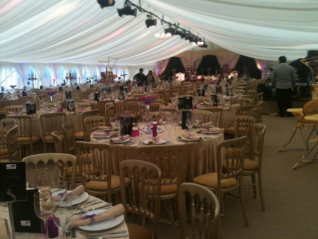 Marquees for wedding celebrations