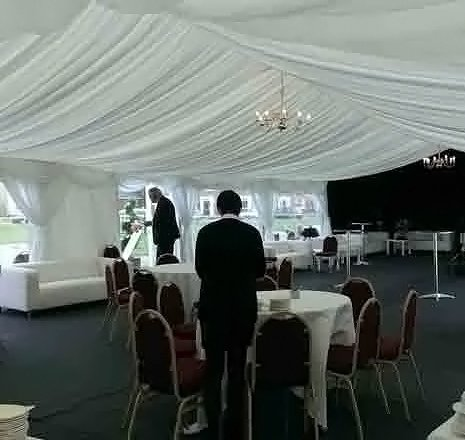 Corporate event marquees