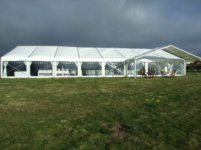 Marquees for wedding receptions
