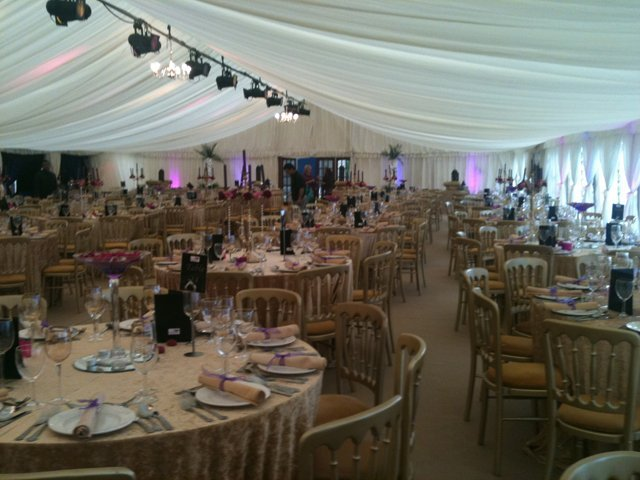 Marquees for functions