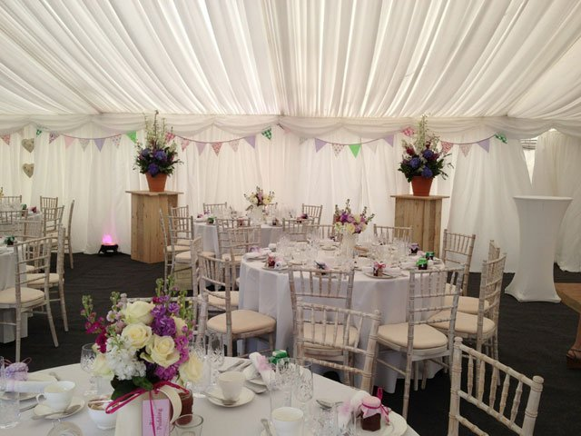 safe and sturdy marquees