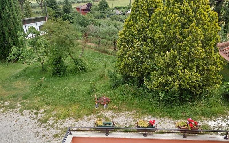 Zona verde Villa Lina
