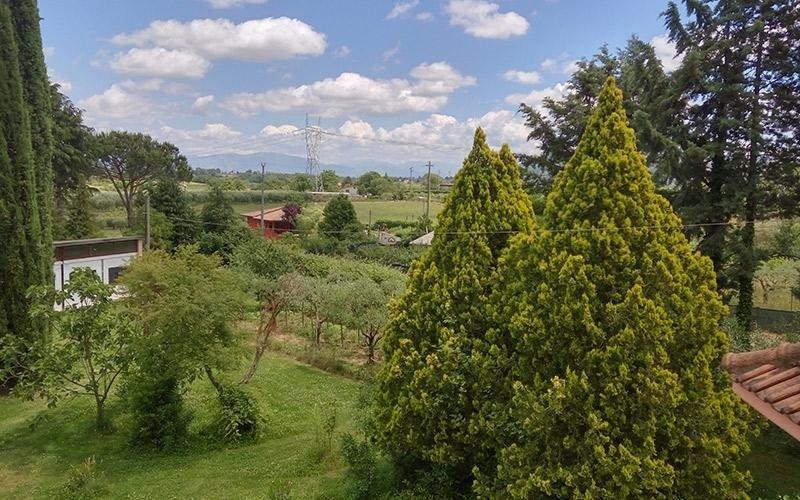Vista panoramica Villa Lina