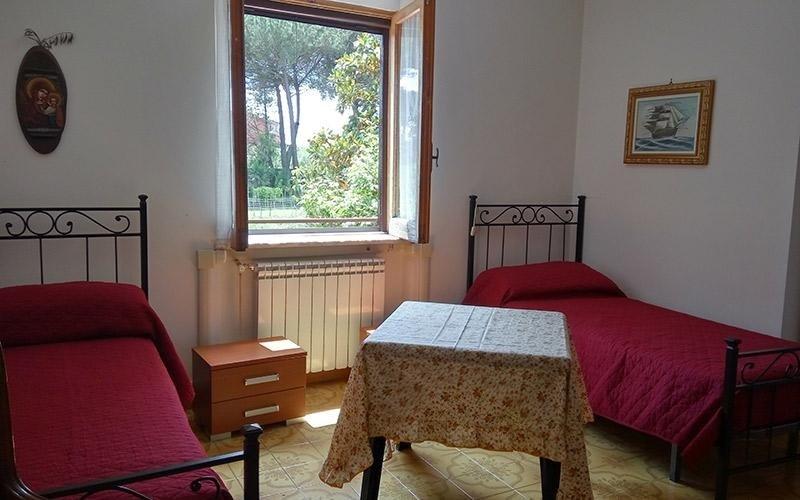 Camere confortevoli Villa Lina