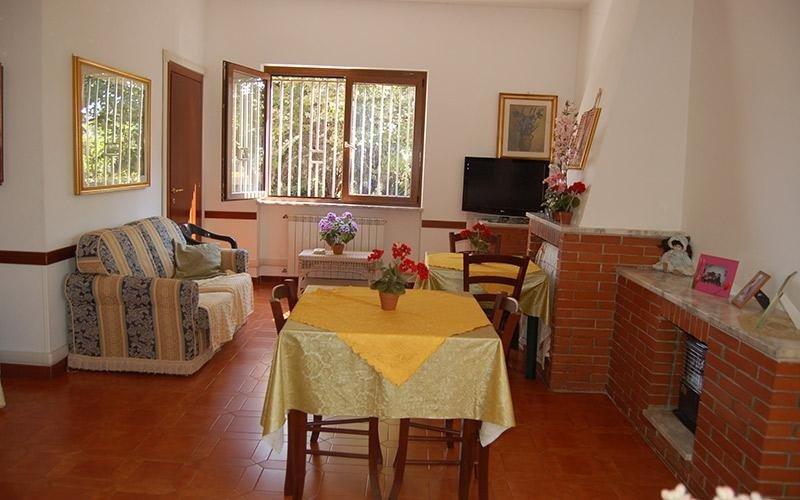 Soggiorno Villa Lina