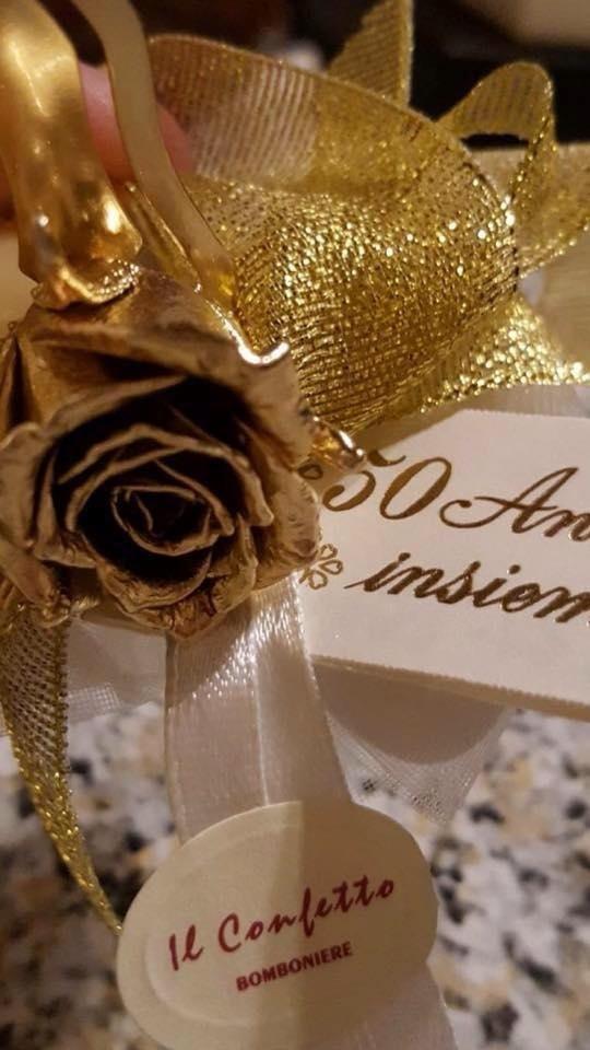 Anniversario 50 anni matrimonio