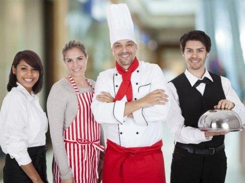 divise cuochi camerieri e chef