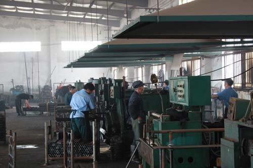 View of the machine