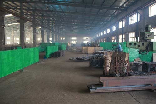 Interior view of the manufacturing plant