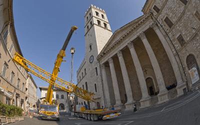 Cantiere a Perugia