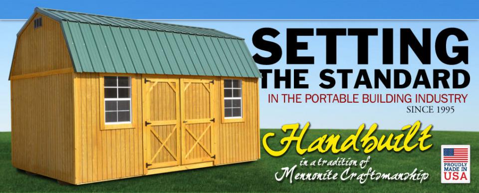 hand built portable buildings