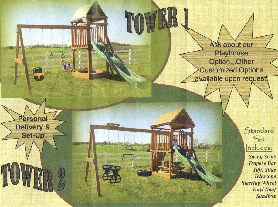 swings sets for sale arkansas